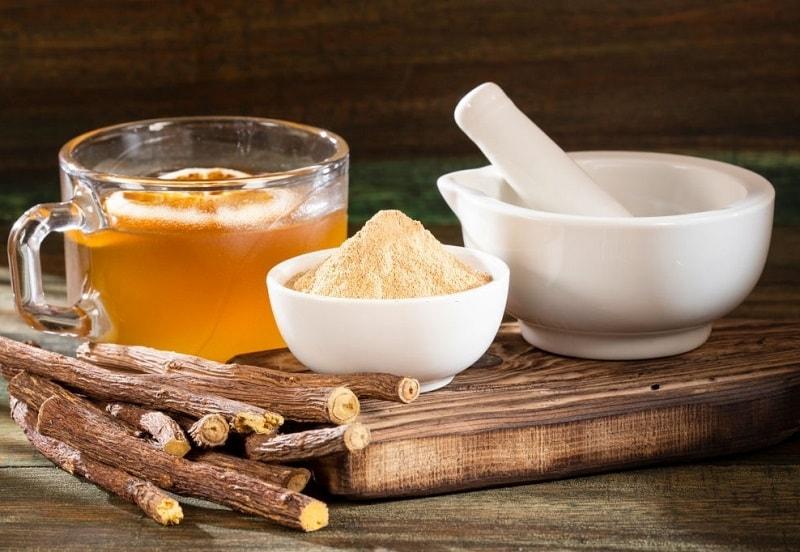 مصرف شیرین بیان به صورت جوشانده