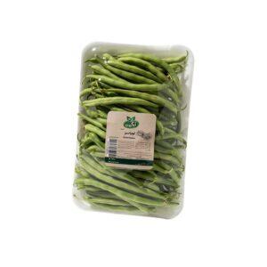 لوبیا سبز ارگانیک 500 گرم آبگینه