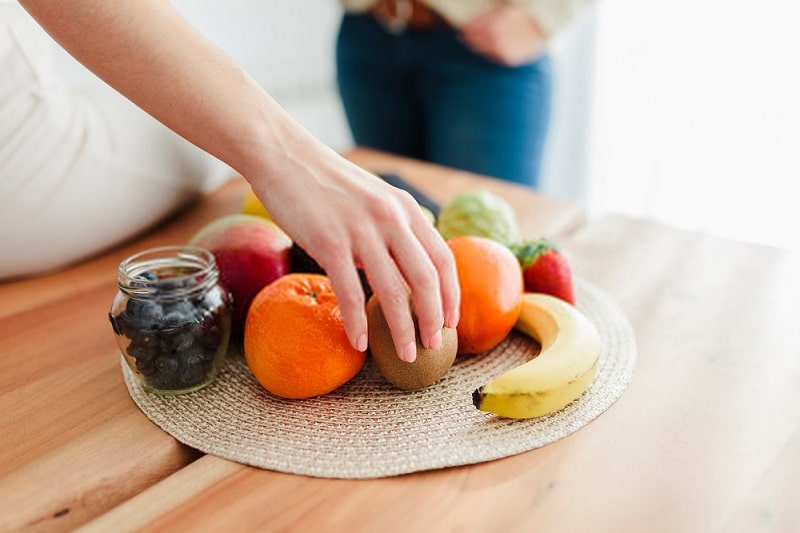 خام گیاه خواری به عنوان غذا