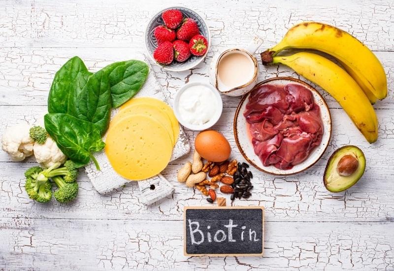 علائم کمبود ویتامین B۷ و مقدار مصرف آن