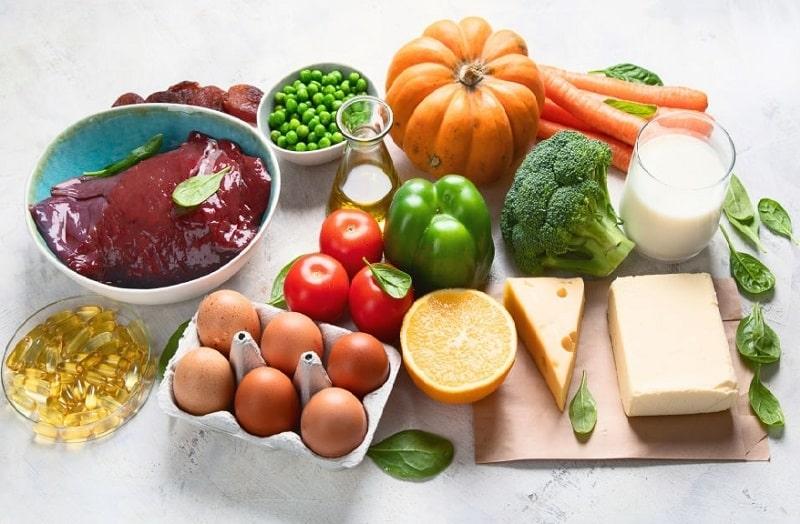 میزان مصرف روزانه ویتامین A