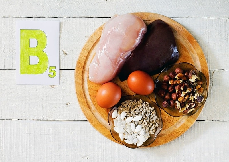 تاثیرات اسید پانتوتنیک موجود در مواد غذایی در بدن
