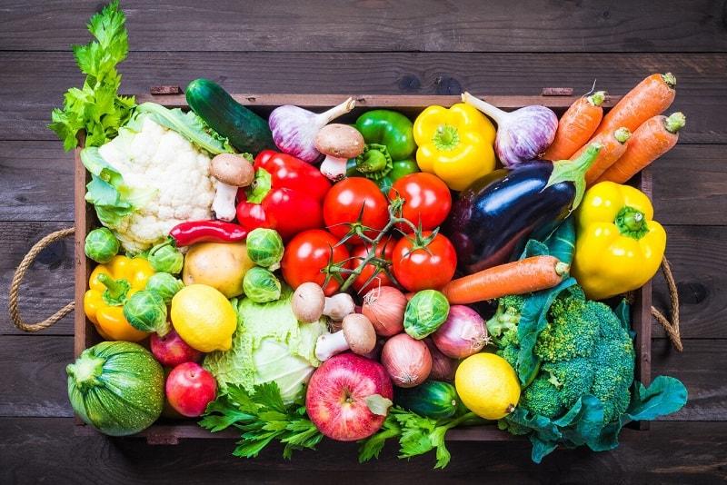 خواص میوه و سبزی