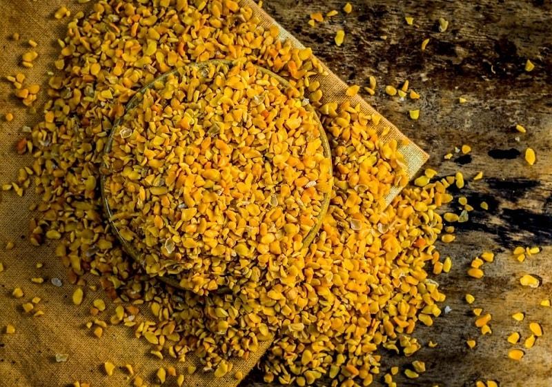 قسمت دارویی شنبلیله دانه های آن است