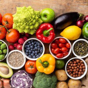 تغییرات بدن در خام گیاه خواری