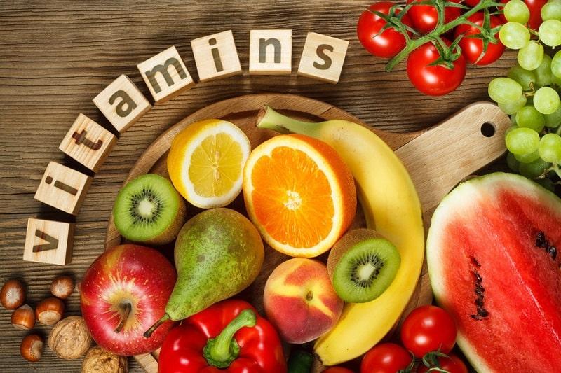 ویتامین ها در خام گیاه خواری