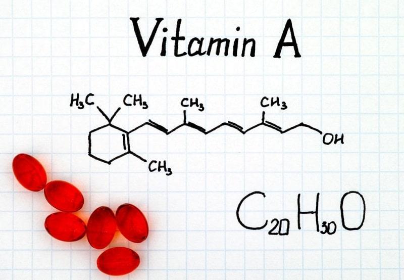 فرمول و وزن مولکولی ویتامین A
