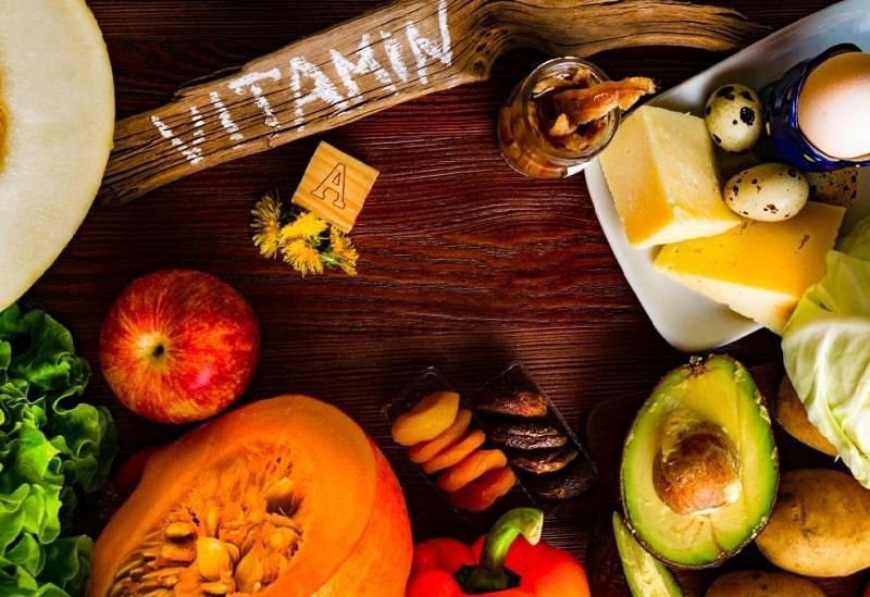 مقدار مصرف ویتامین A از راه خوردن