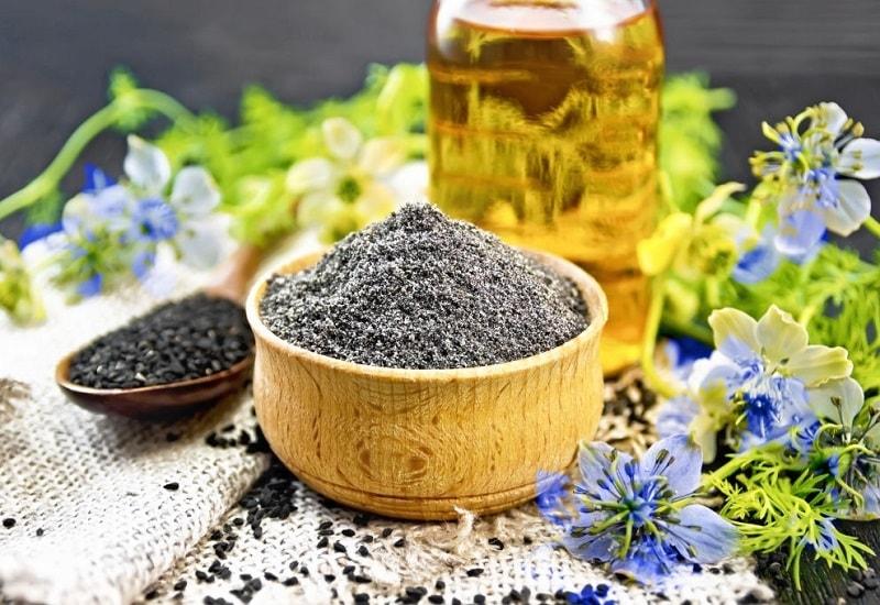 ترکیبات شیمیایی سیاه دانه