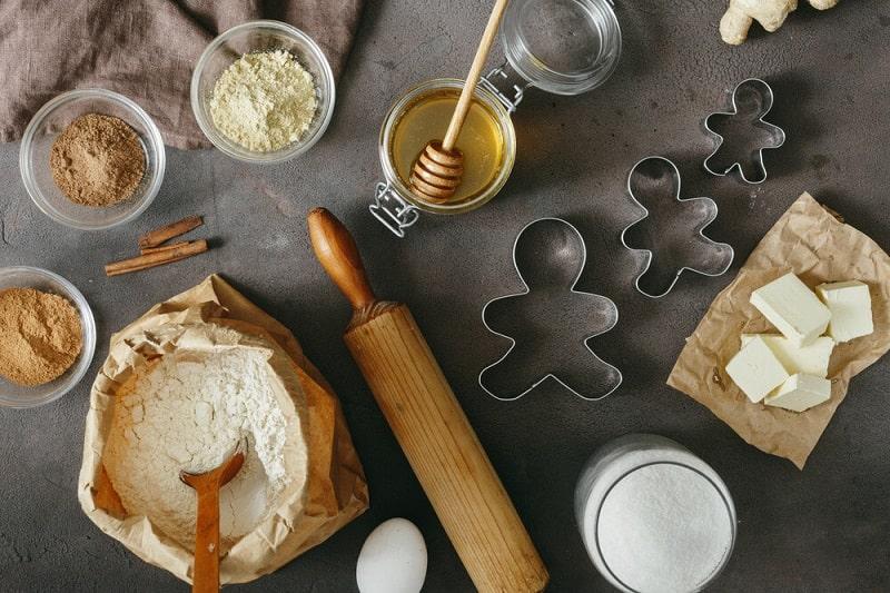 طرز تهیه نان خامه ای خام گیاه خواری