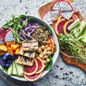 برنامه غذایی خام گیاه خواران