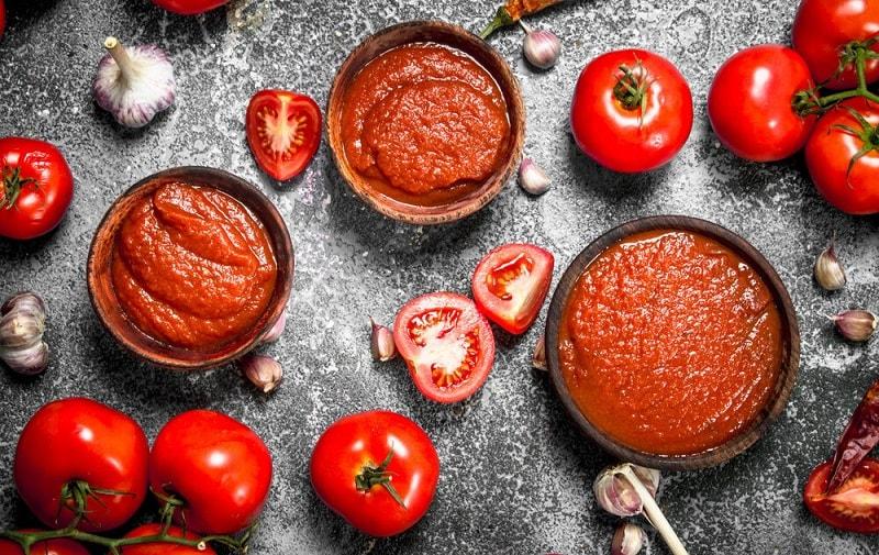 طرز تهیه دلمه گوجه فرنگی برا خام گیاه خواران