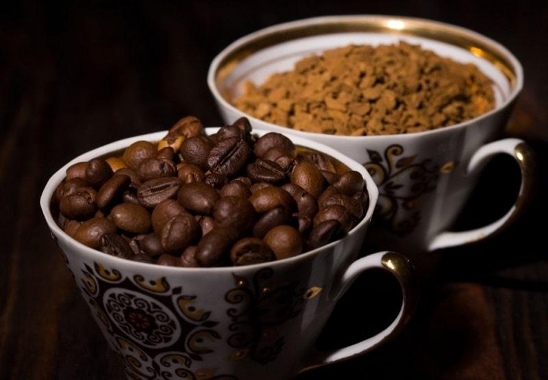 میزان مواد روغنی موجود در دانه قهوه