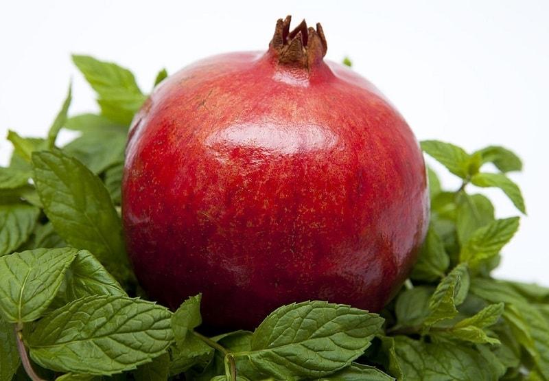پل له تیه رین موجود در ترکیبات درخت انار