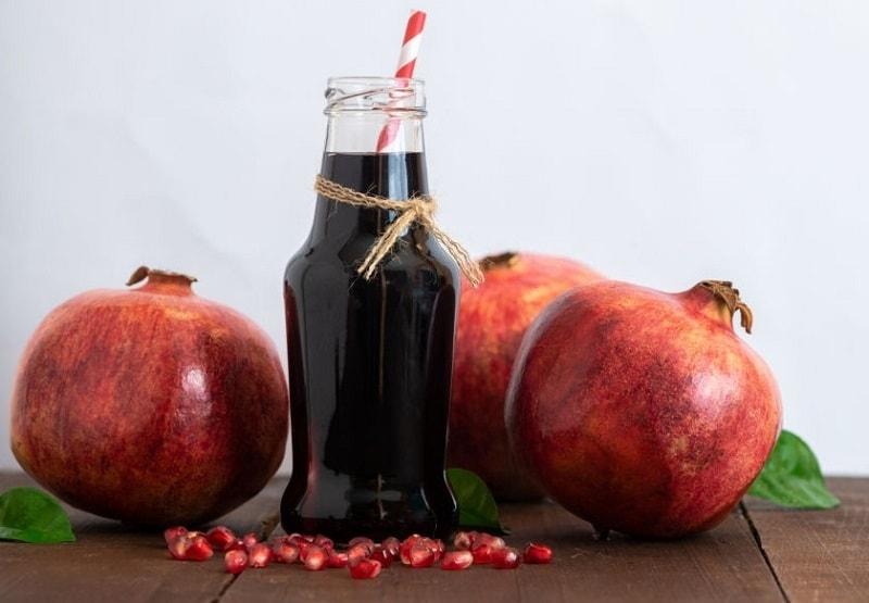 اسید دی گالیک موجود در ترکیبات درخت انار
